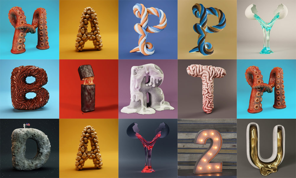 3d-letters-happy-birthday-to-you