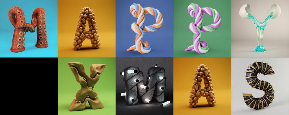 3d-letters-happy-xmas