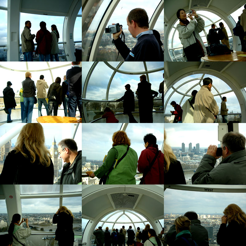 London Eye People