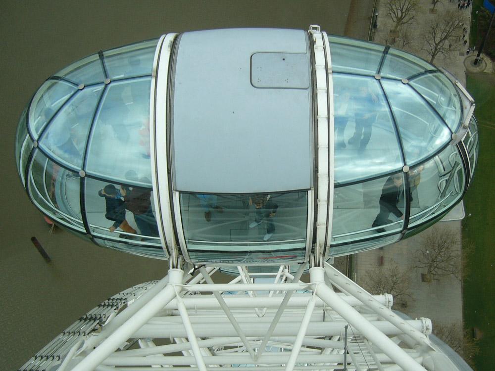 Inside London Eye 4