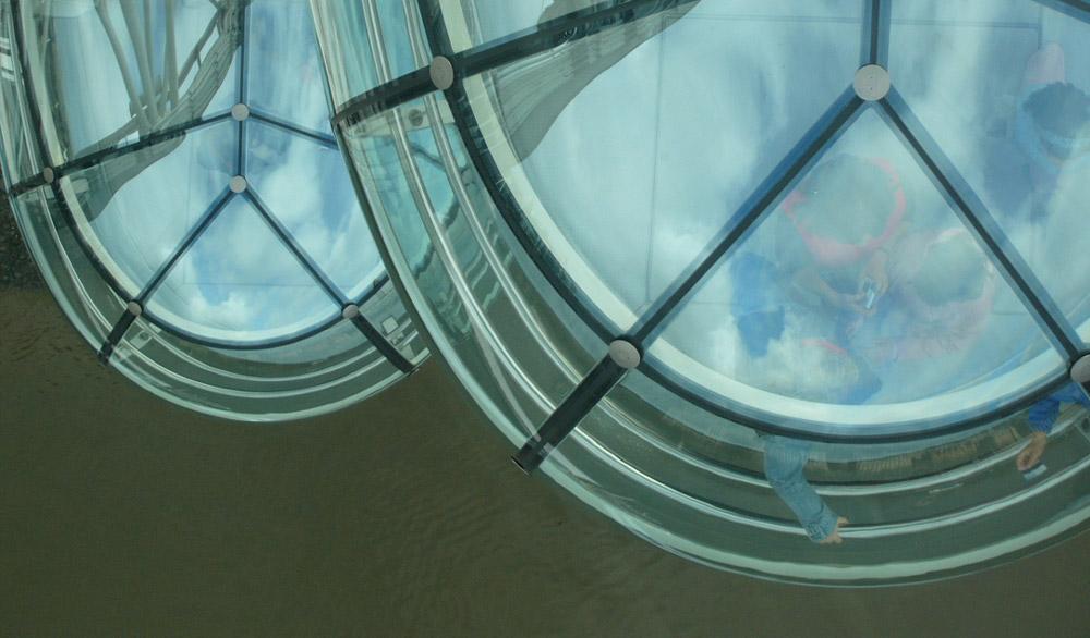 Inside London Eye 8