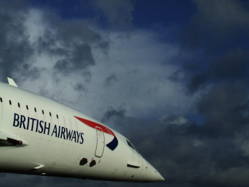 Concorde G-BOAC, Manchester Airport