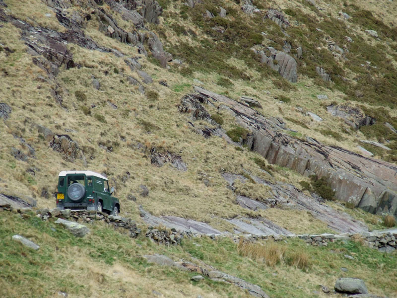 National Trust Land Rover, Snowdon
