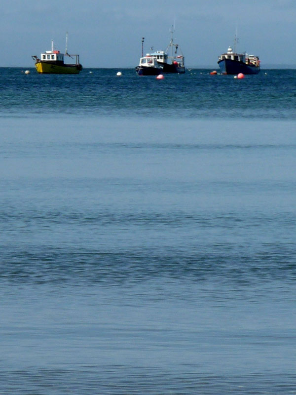 Fishing boats at Morfa Nefyn