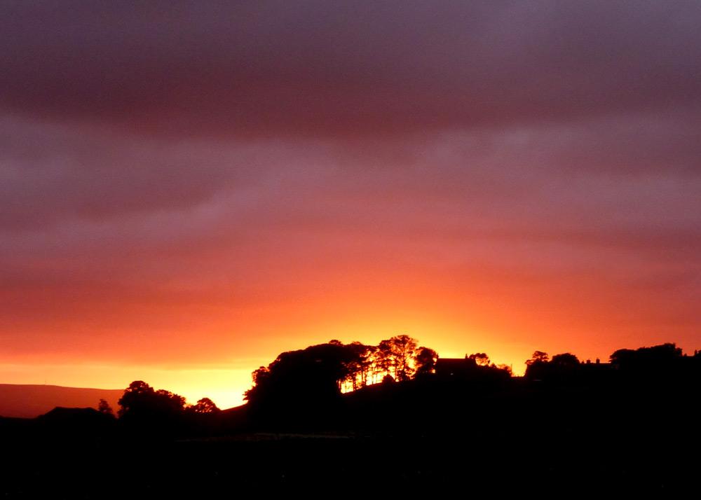 Hawes sunrise