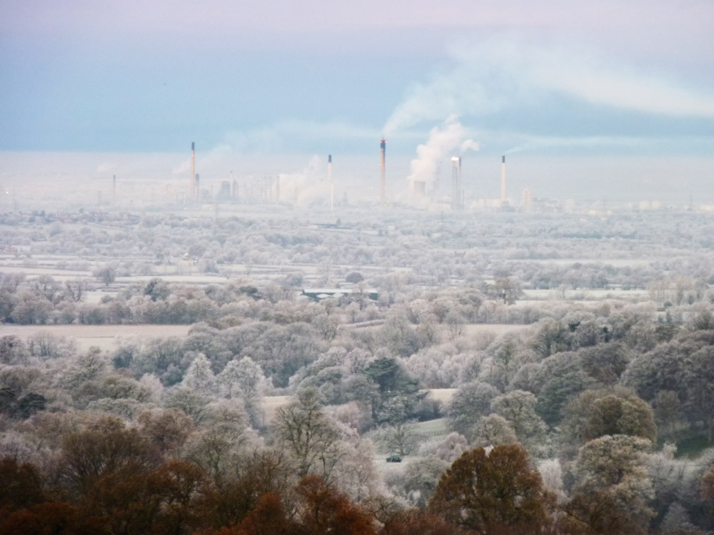 Stanlow Refinery, cold