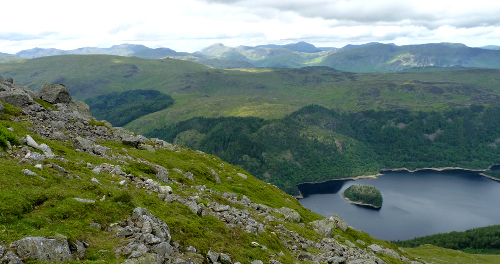 View across Thirlmere