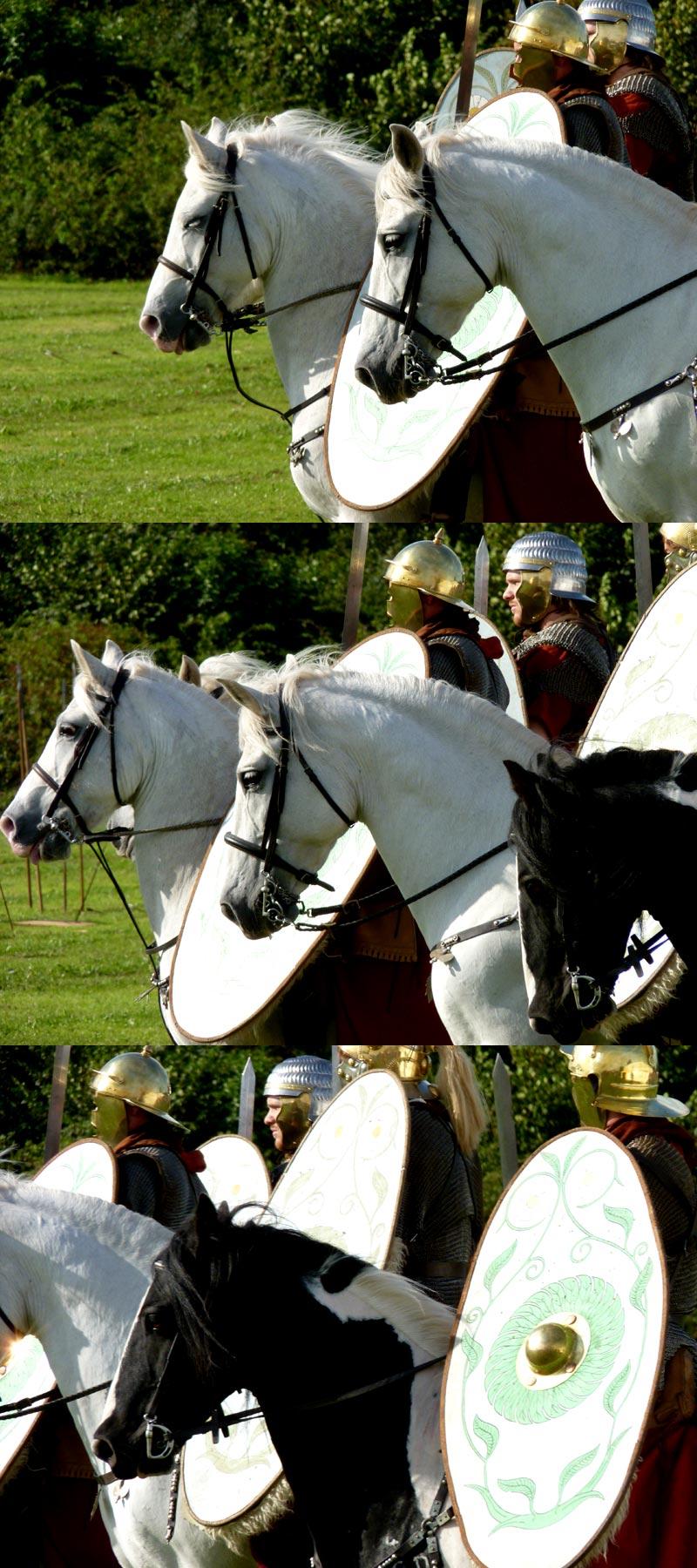 Roman soldier on horse