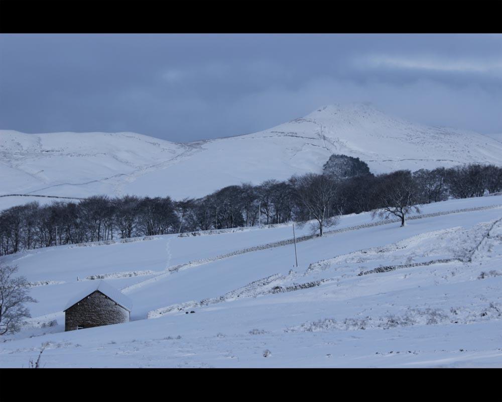 Snowy Shutlingsloe