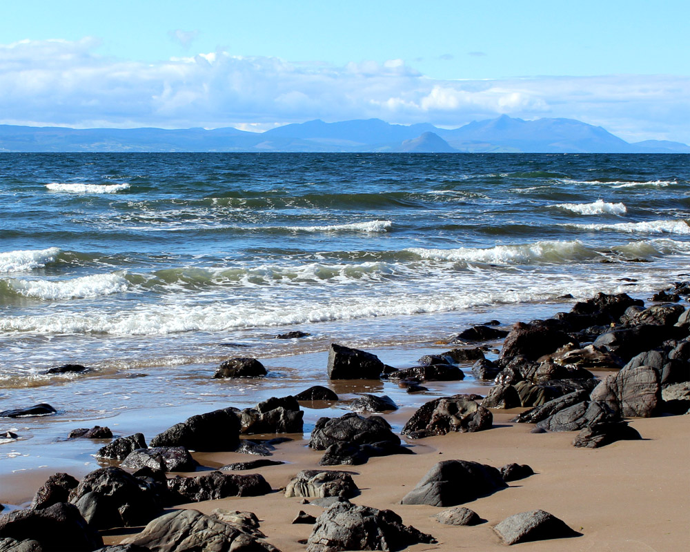 Arran from Maidens