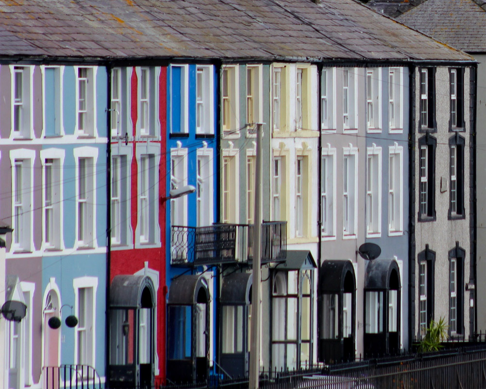 Colourful Caernarfon