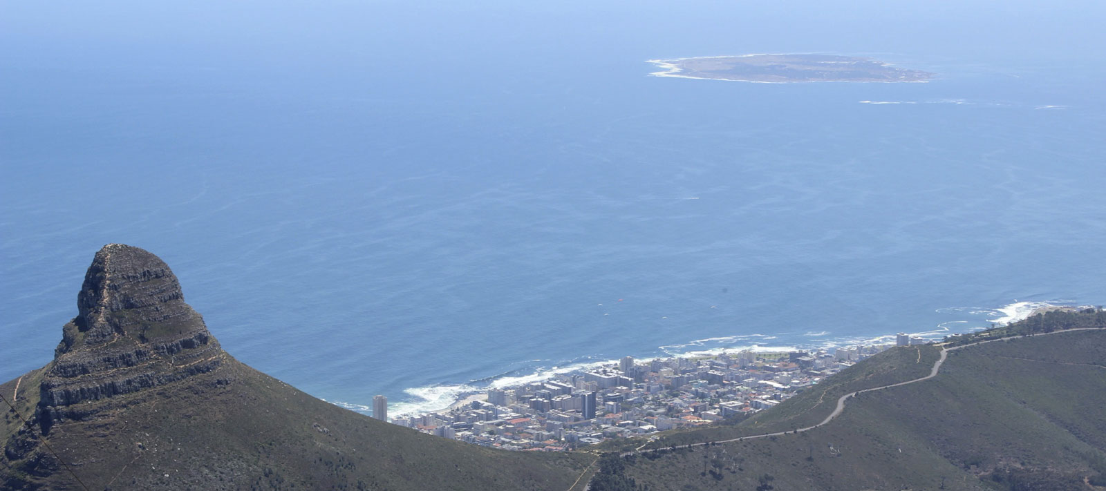 Lion's Head and Robben Island