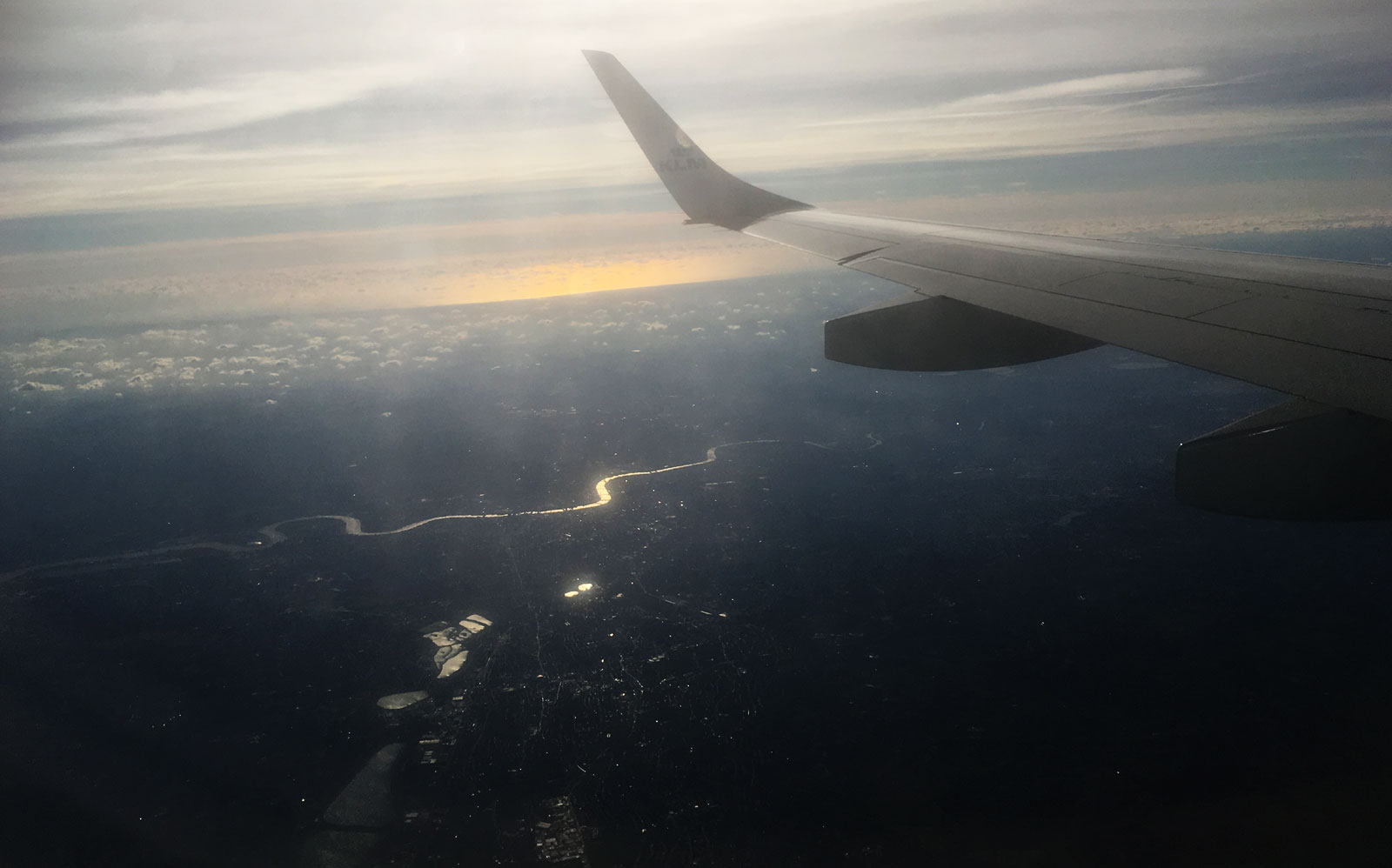 Thames from the air