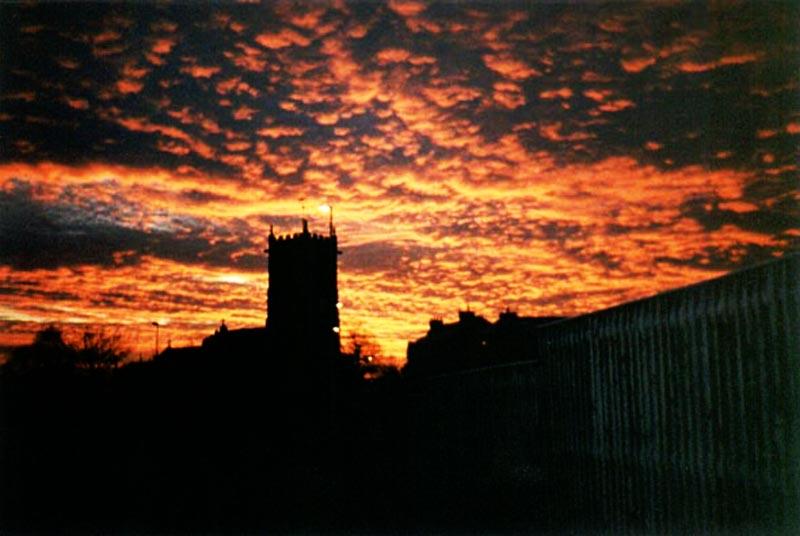 Sunrise over St Michaels