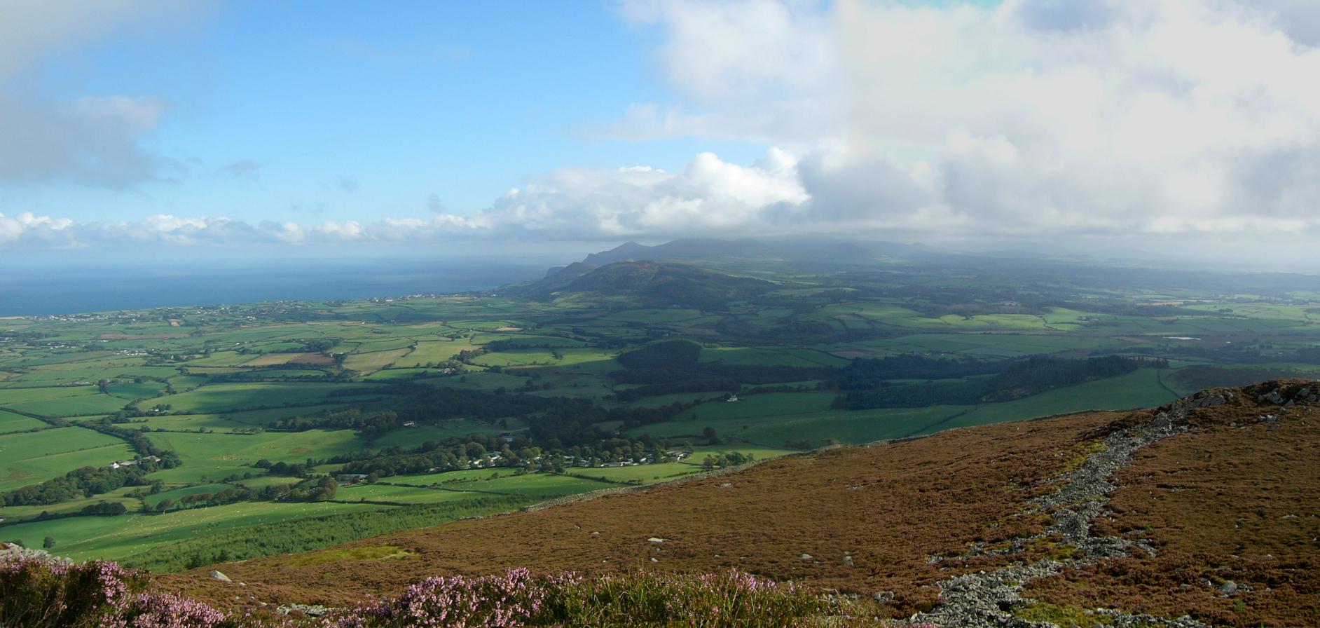 Garn Fadryn Panorama